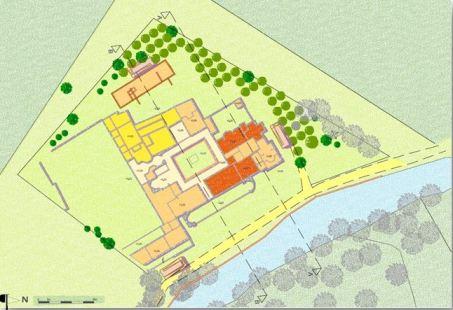 La villa plan