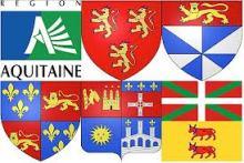 Aquitaine blasons