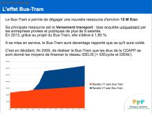 Bus tram PierU