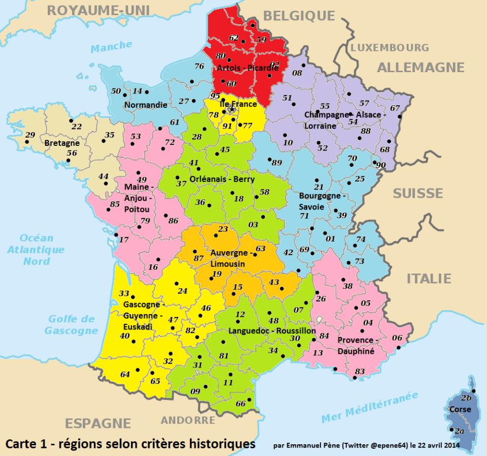 Régions base historico-culturelle