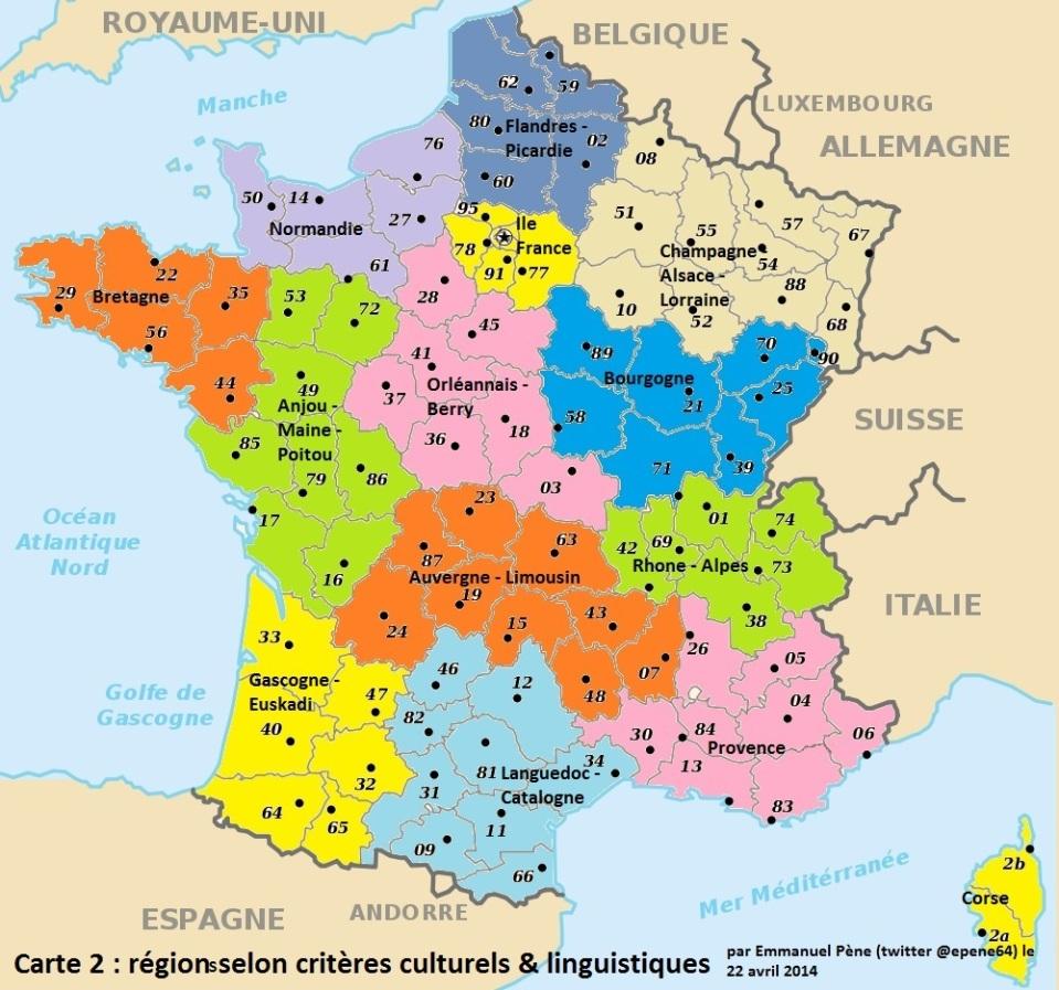 Régions base historico-linguistique