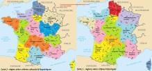 Regions francaises  criteres culturels et historiques