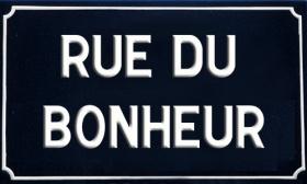 panneau signalétique rue Marettes