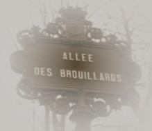 allée des brouillards