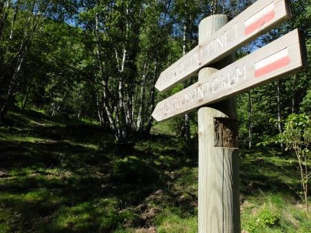Artigues : Direction refuge du Pinet
