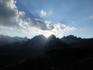 refuge de Ventosa i Calvell : Lever du soleil