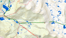 J 24 Refugi de Amitjès - Refugi Ventosa Calvell (2)