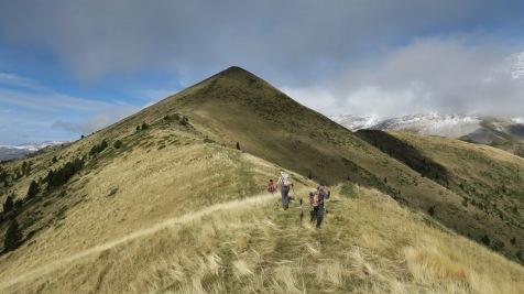 Monte Sarasé au-dessus de Gavín/Biescas