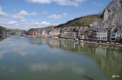 Dinant bord de Meuse