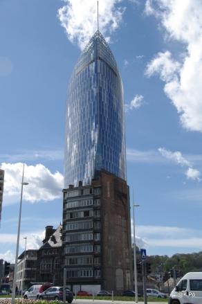 Liège la tour Paradis