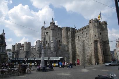 Gand le château des Comtes